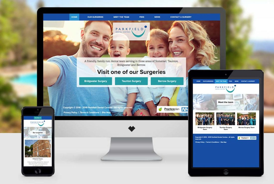 The new website designed and developed by Love Creative UK